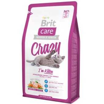 Harga Brit Care Cat Crazy I'm Kitten 2kg