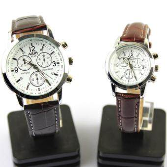Business Couple Leather Watches