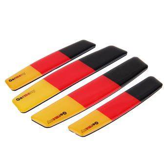 Car Accessories Auto Side Door Edge Protection Guards Trim Sticker For Germany Flag For Jeep Wrangler