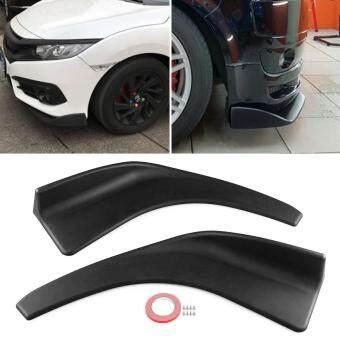 Car SUV Front Deflector Spoiler Splitter Diffuser Bumper Canard Lip Body Shovels