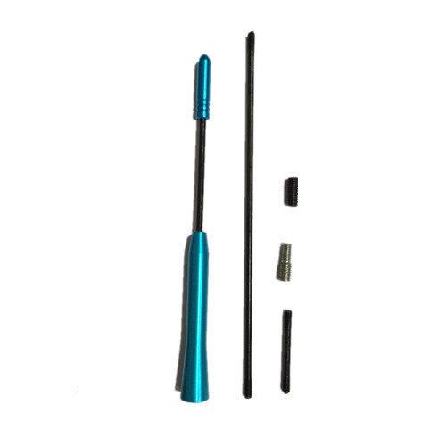Carfu Car Aluminum Antenna Refill For Proton/Perodua/Suzuki/Toyota - Blue