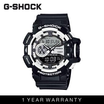 Casio G-Shock Men GA-400-1ADR Black White Sports Resin Watch