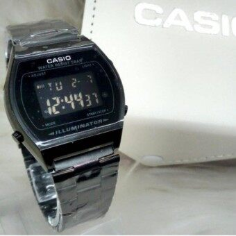 Casio Illuminator Digital Watch For Women - BLACK