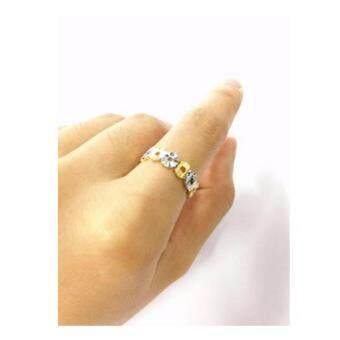 Cek Harga Cincin Emas Gold Korea Plated Ring Ct008 Gift For Women