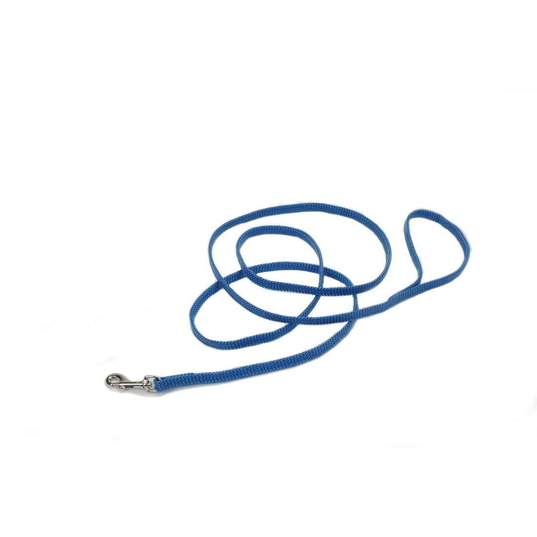 [Coastal] Braided Sunburst Nylon Leash - 6 FEET - Blue Laggon