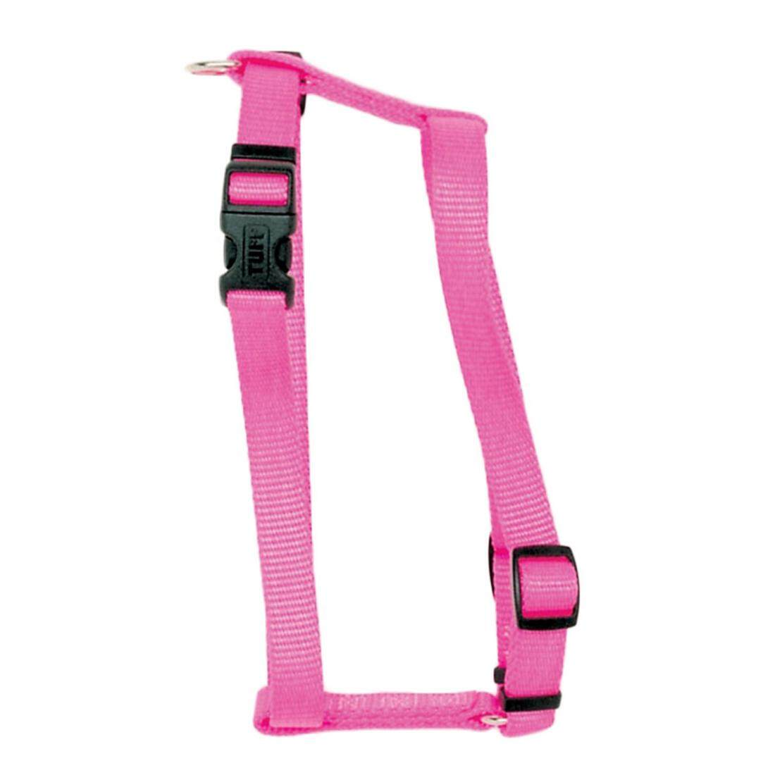 "[Coastal] Harness Adjustable Nylon 1"" - Large - Neon Pink"