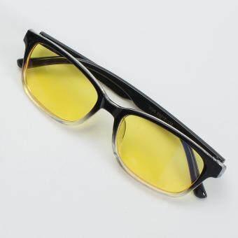 Computer Glasses TV Radiation UV Protection Eyeglasses Anti-fatigue Game Goggles Half Black