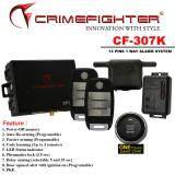 CRIMEFIGHTER CF307K 1 Way PUSH STAT/ AUTO START PKE CAR ALARM SYSTEM