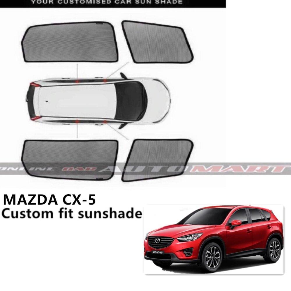 Custom Fit OEM Sunshades/ Sun shades for Mazda CX-5 - 4pcs