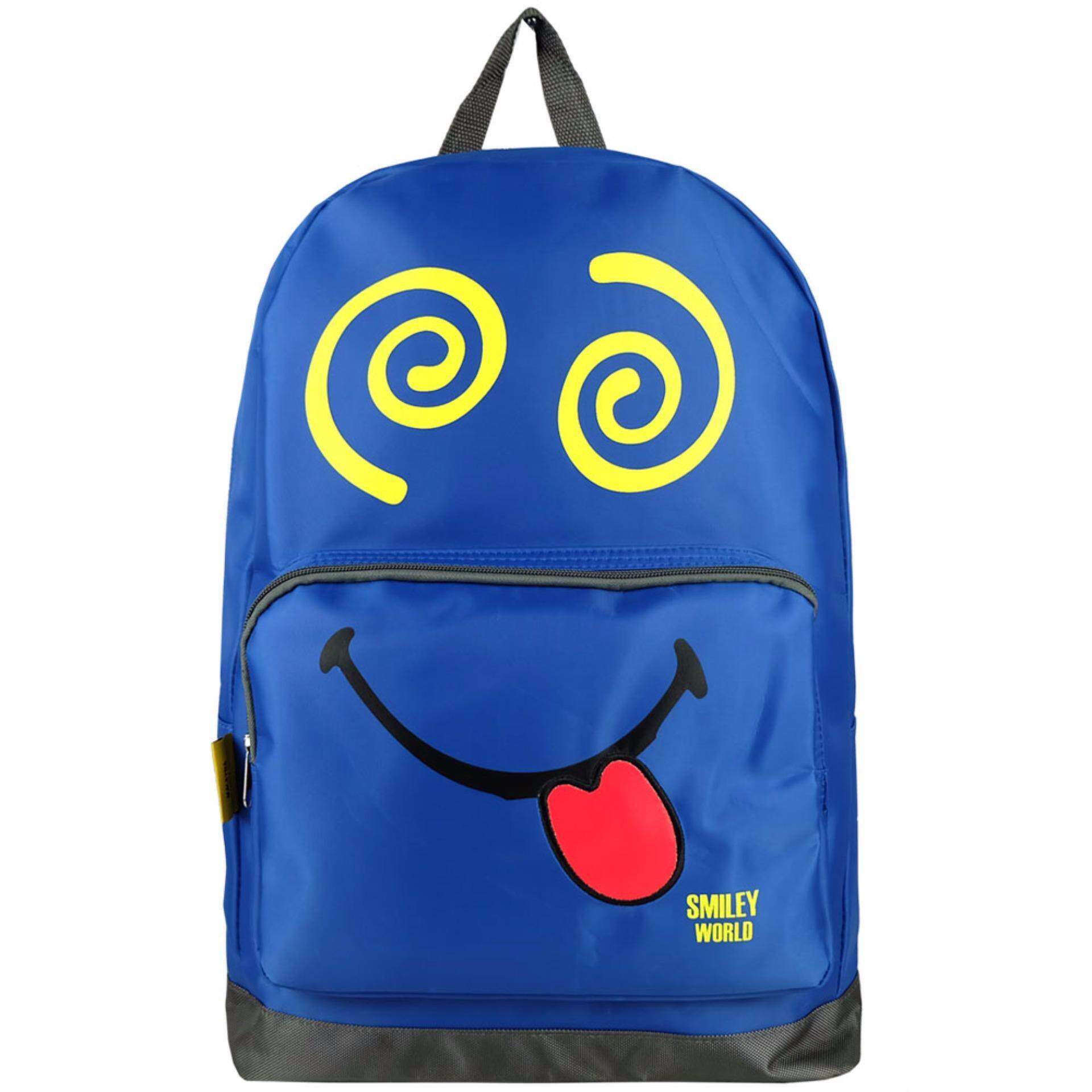 Cutie Smiley SB1741 18 Inch Emojis Backpack