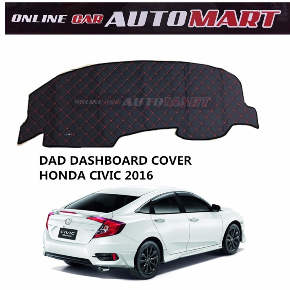 DAD Non Slip Dashboard Cover - Honda Civic Yr 2016