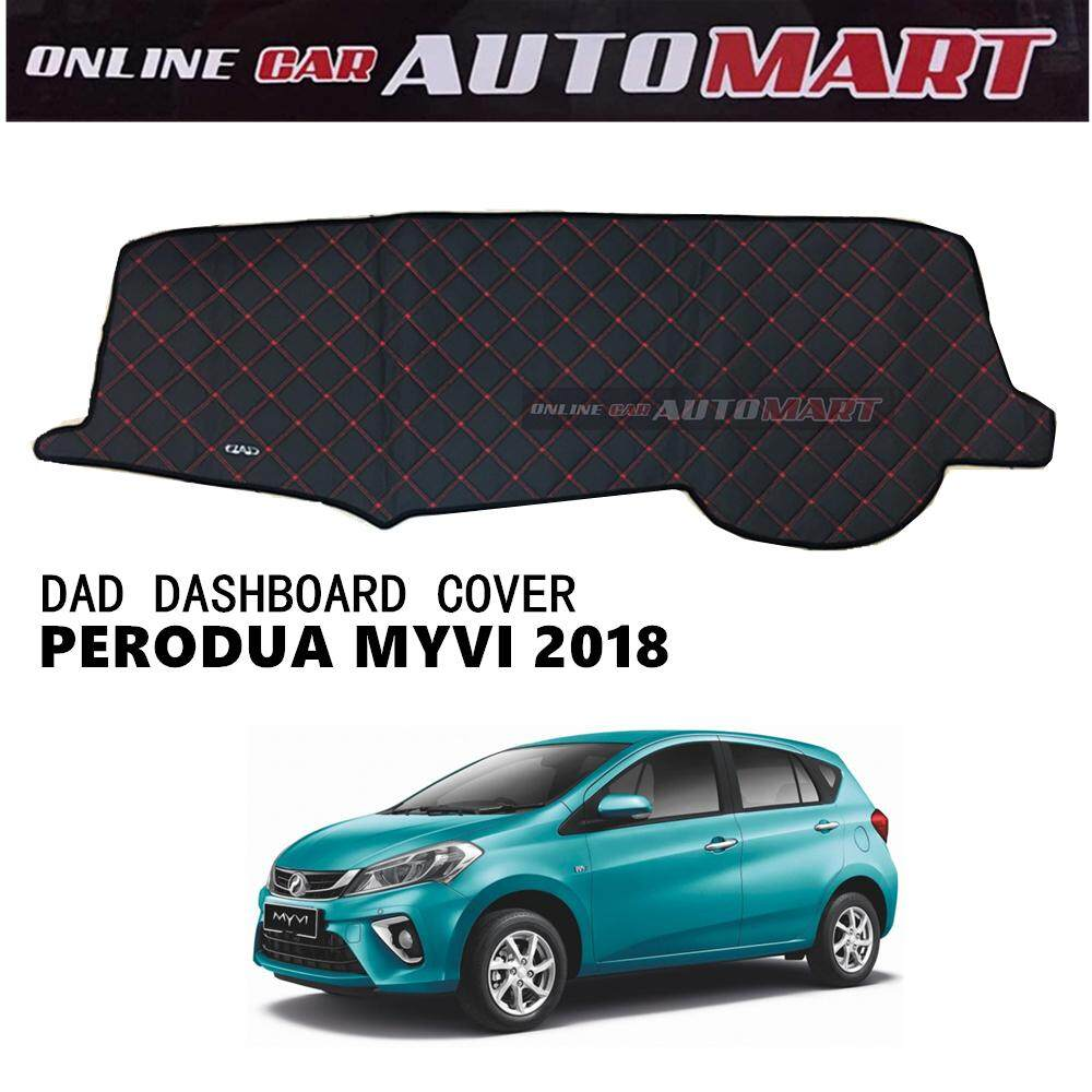 DAD Non Slip Dashboard Cover - PERODUA MYVI YR 2018