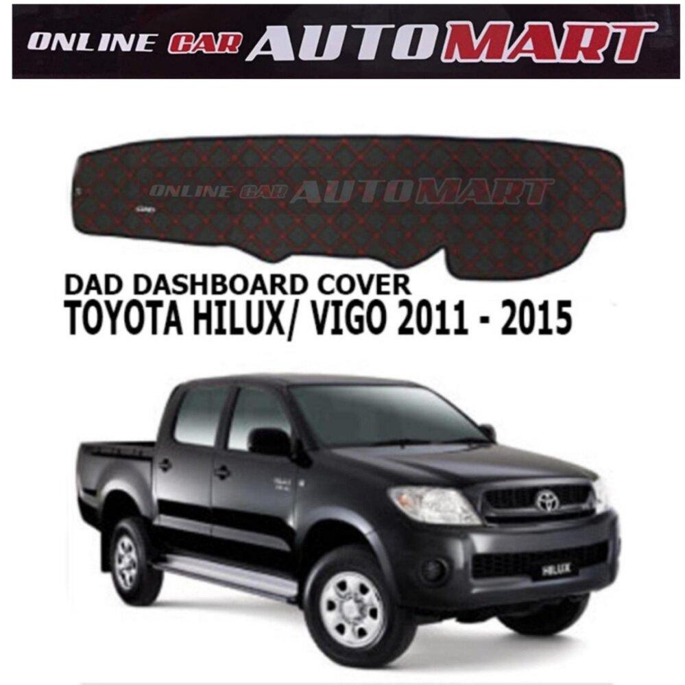 DAD Non Slip Dashboard Cover - Toyota Hilux Virgo Yr 2011-2014