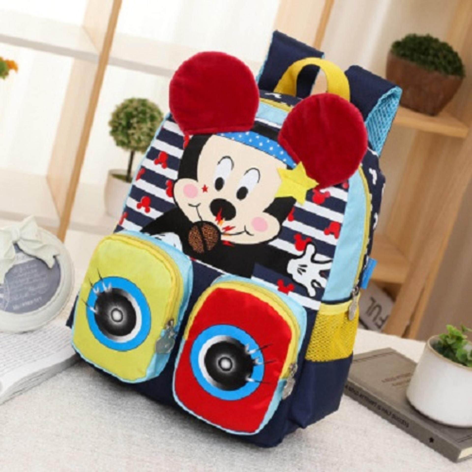 Dark Blue Preschool Bag MYESKB002