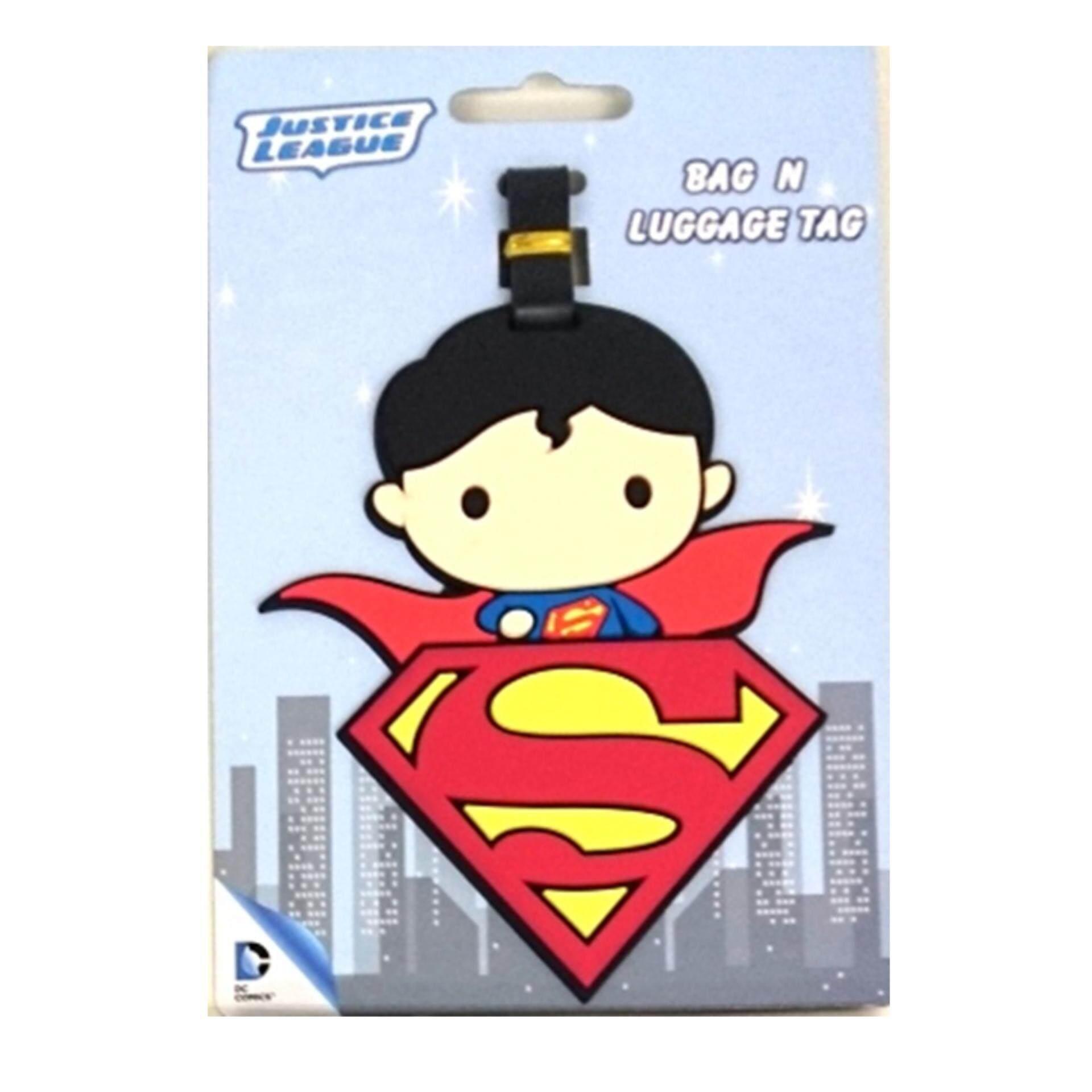DC Comics Justice League Luggage Tag - Chibi Superman