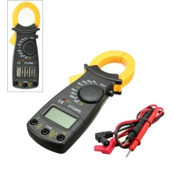 Digital Electronic AC and DC Voltage Clamp Meter Multimeter CurrentVolt Tester Tool