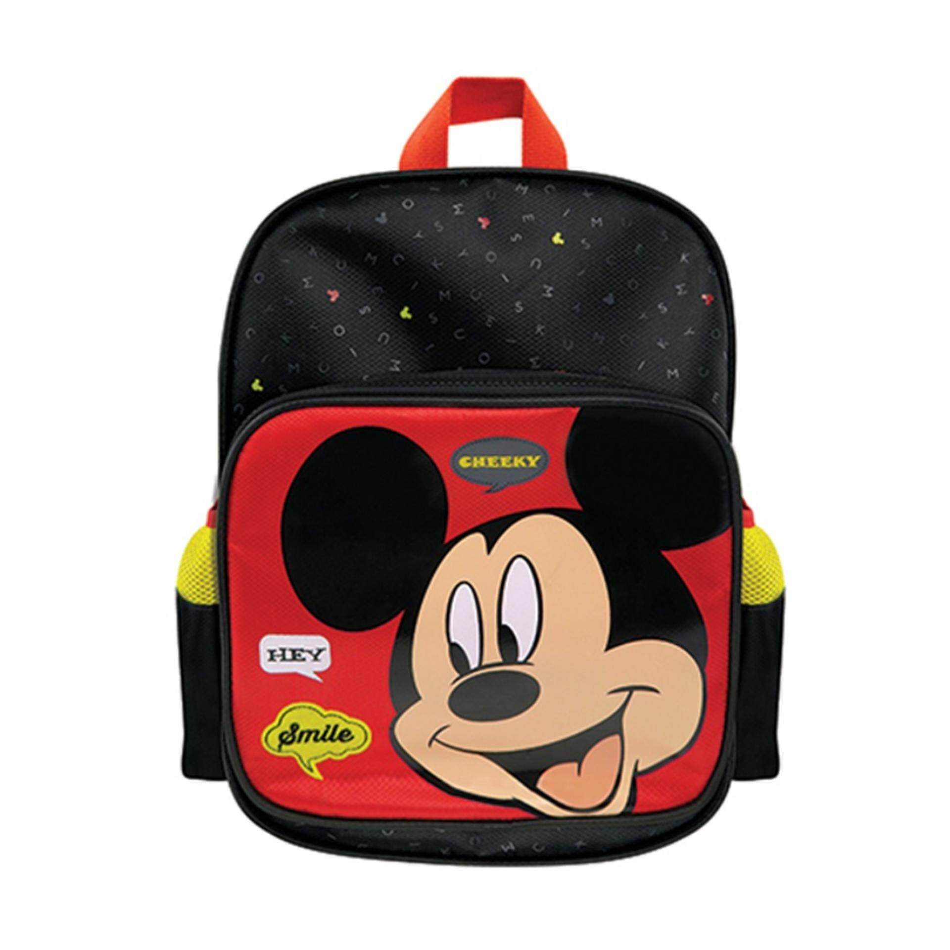 Disney Mickey Backpack School Bag 12 Inches - Red Colour