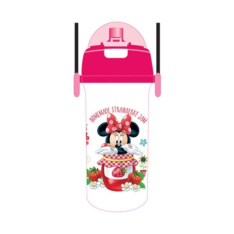 Disney Minnie 600ML Tritan Bottle - Pink Colour