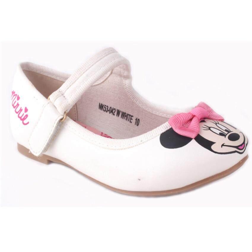 Disney Minnie Dress Shoes 3yrs to 8yrs - White Colour