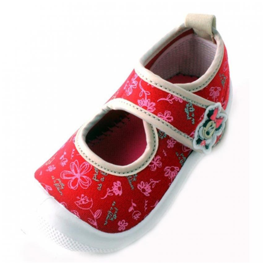 Disney Minnie Sport Shoes 2yrs to 5yrs - Red Colour