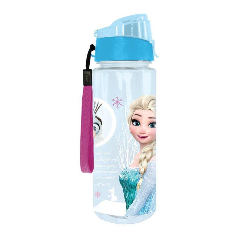 Disney Princess Frozen 650ML Tritan Bottle - Blue Colour