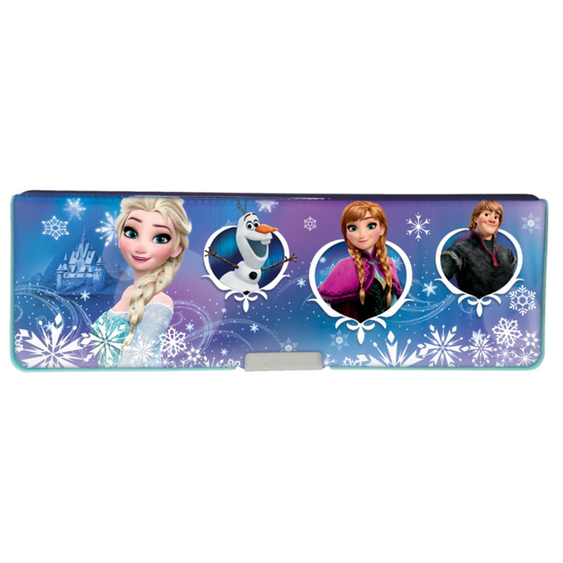 Disney Princess Frozen Magnetic Pencil Box - Blue Colour