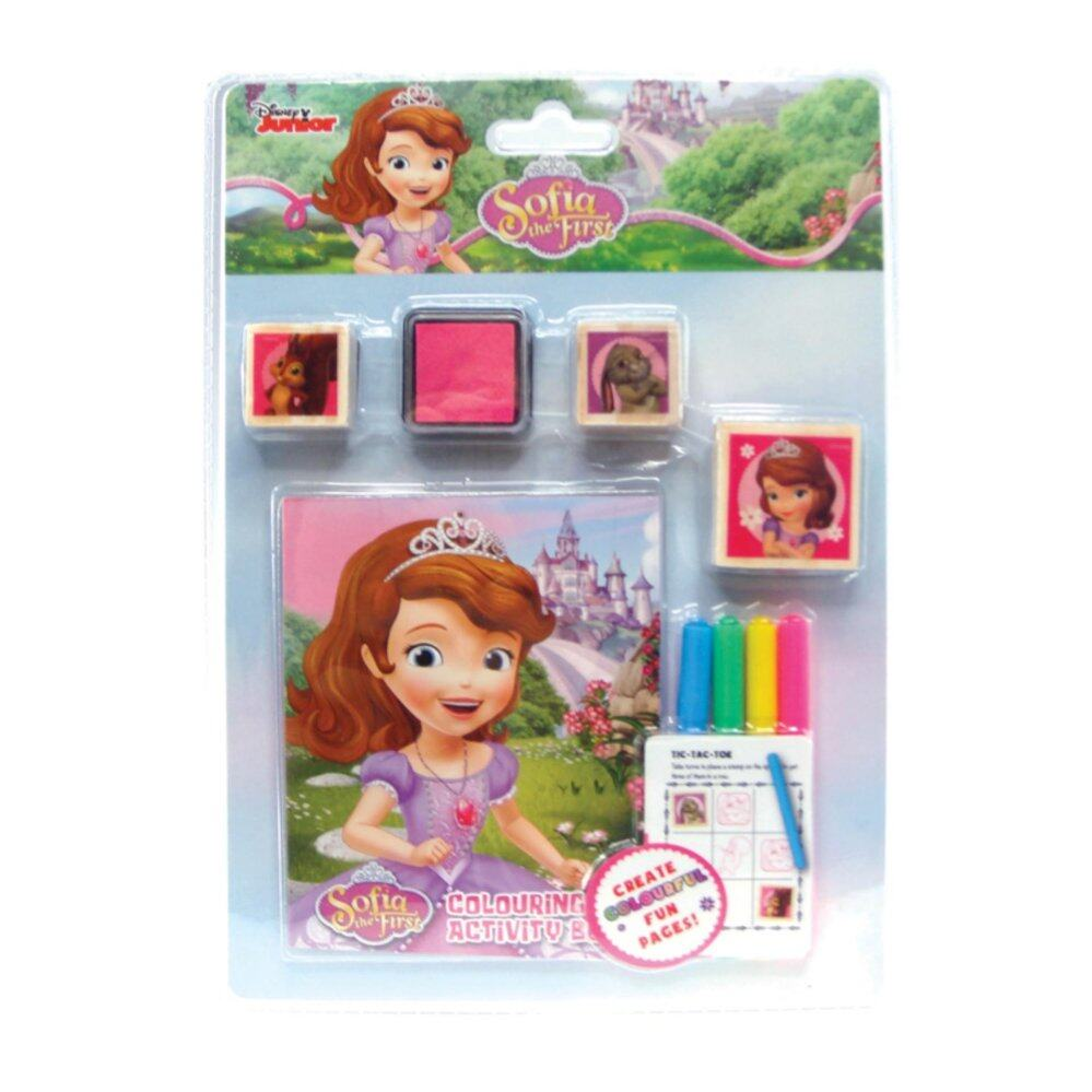 Disney Princess Sofia 9pcs Stamper Set - Green Colour