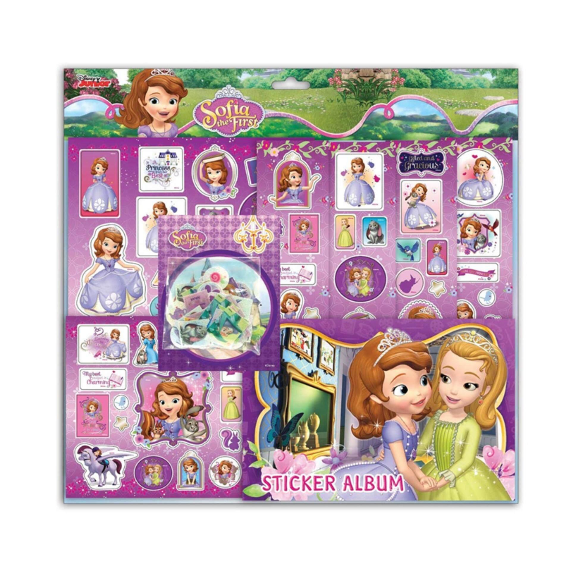 Disney Princess Sofia Mega Sticker Set - Purple Colour