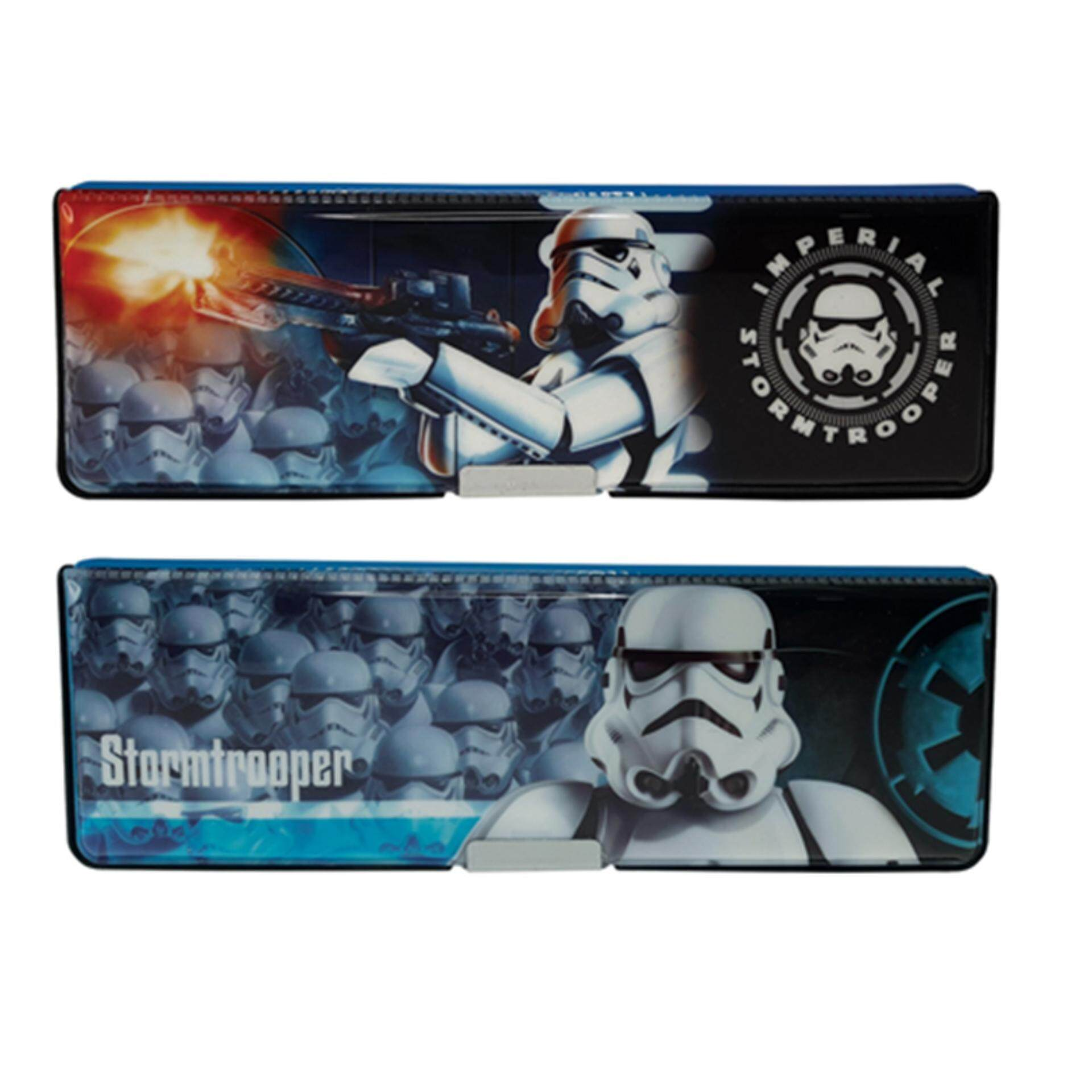 Disney Star Wars Magnetic Pencil Box - Blue Colour
