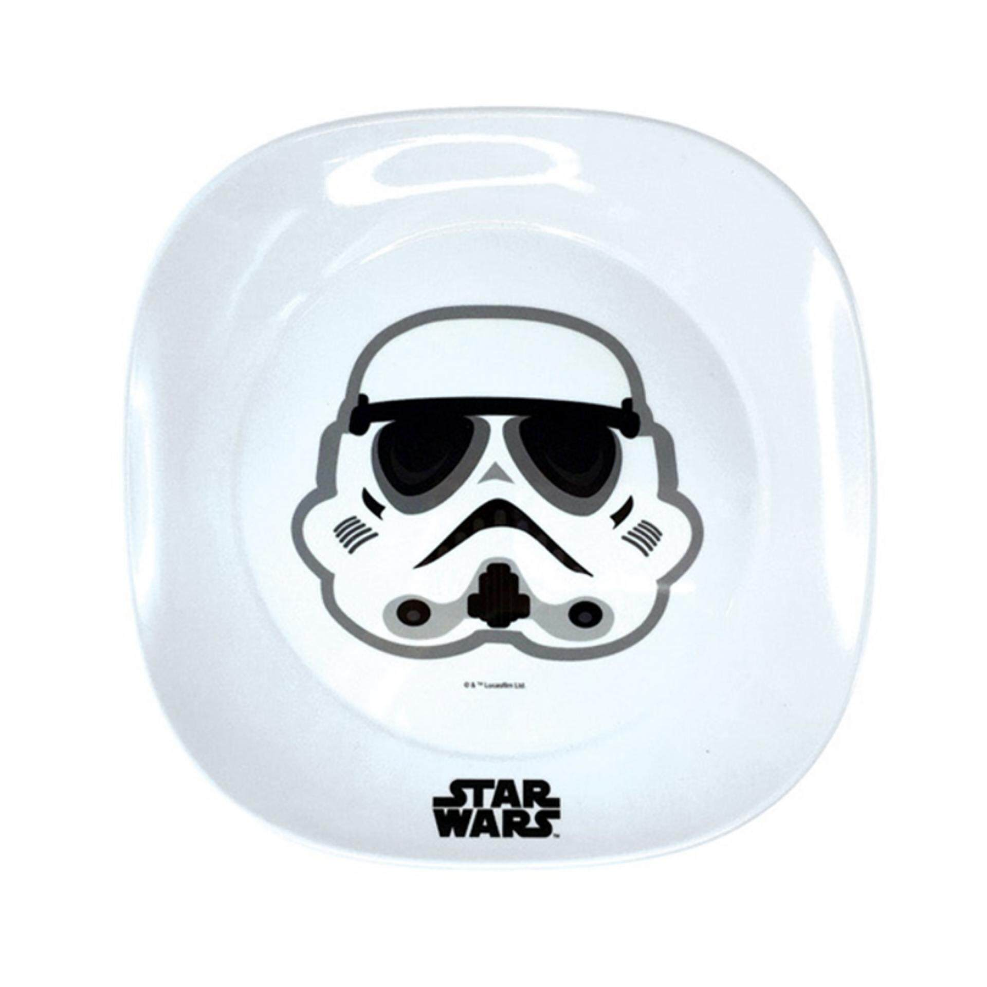 Disney Star Wars Rogue One 9 Inches Plate - White Colour