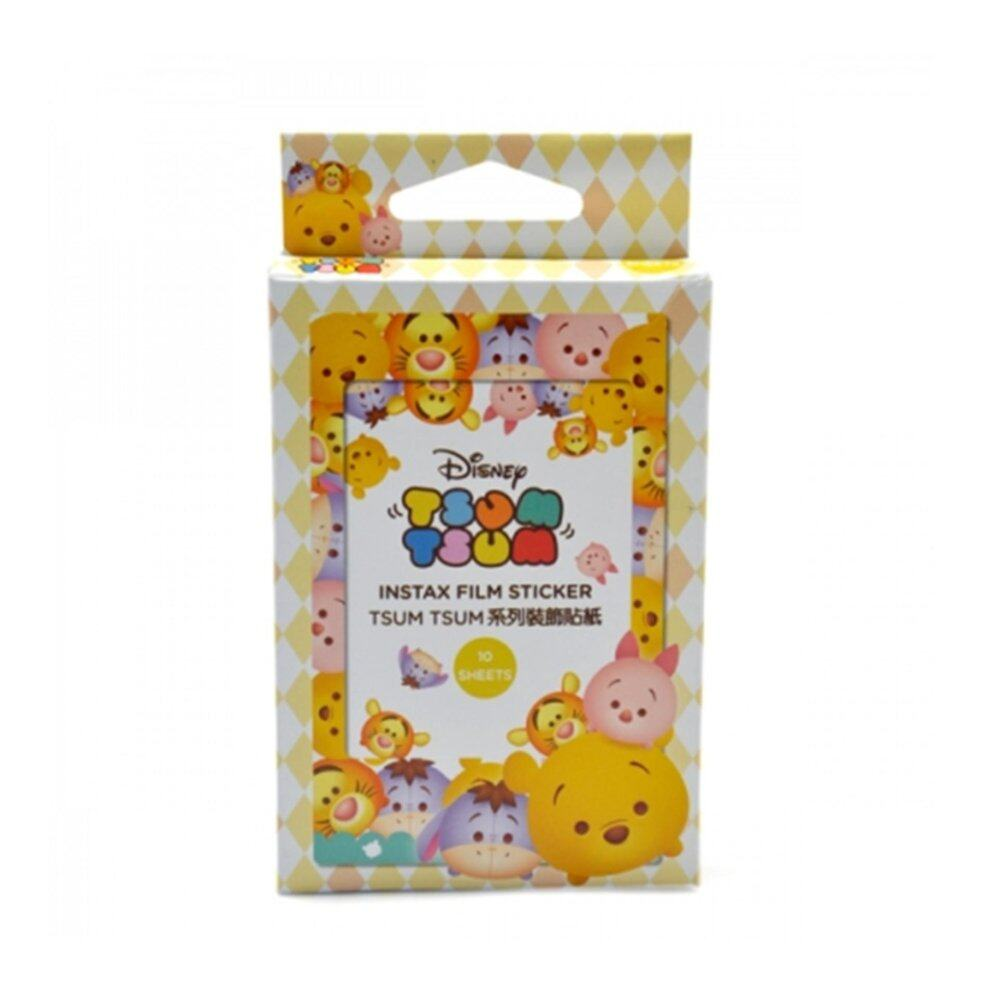 Disney Tsum Tsum 10\'s Colour Frame Sticker - Winnie The Pooh