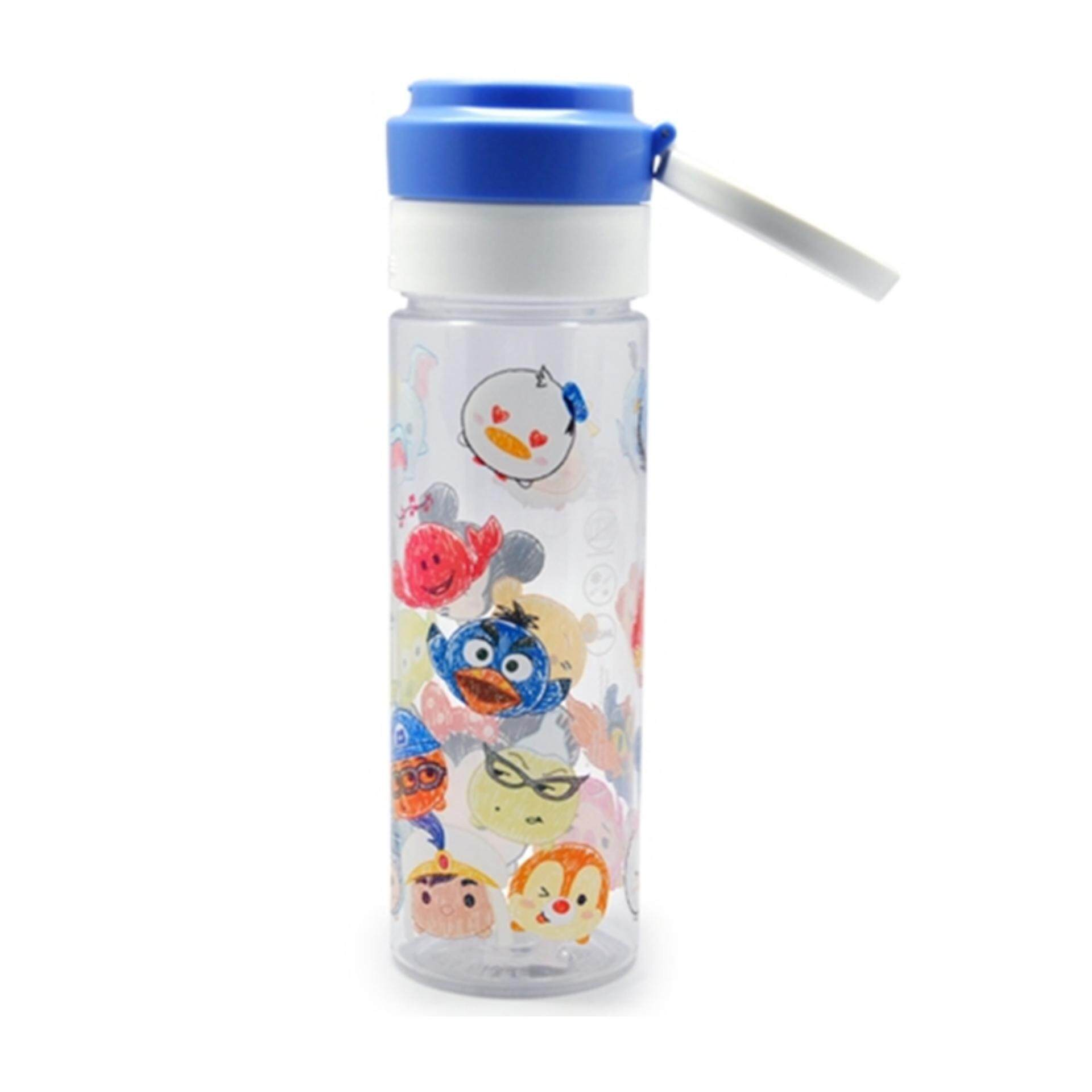 Disney Tsum Tsum 600ML Water Bottle - Blue Colour