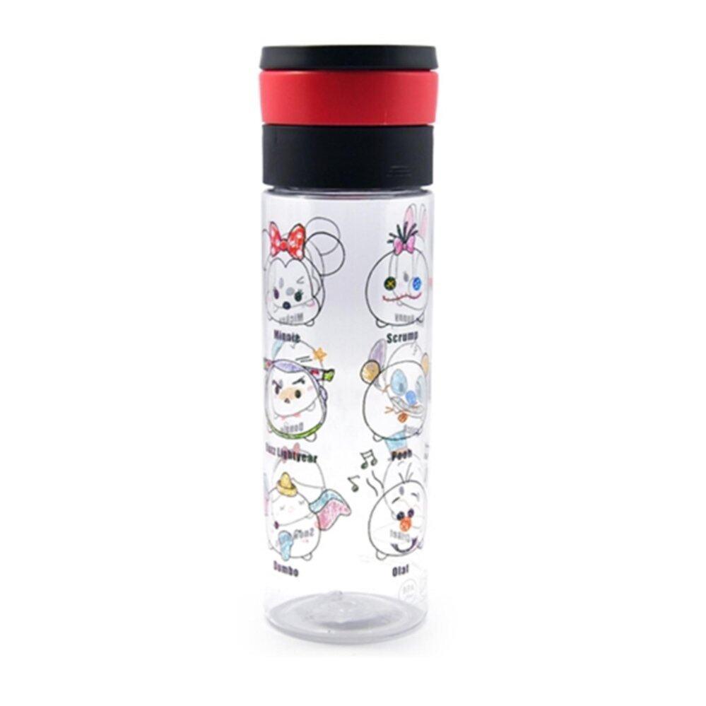 Disney Tsum Tsum 600ML Water Bottle - Black Colour