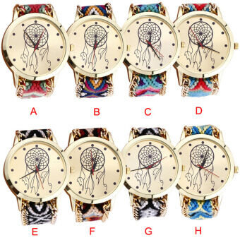 Dreamcatcher   Friendship Bracelet Watches Women Braid Dress Watches Gift Watches