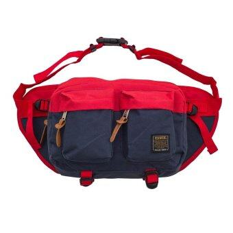 Edwin Pouch Bag (Navy Blue)