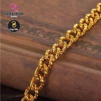 Emas Korea Golden Jaguar Fashion 50cm 4.0 Polo Sauh Necklace