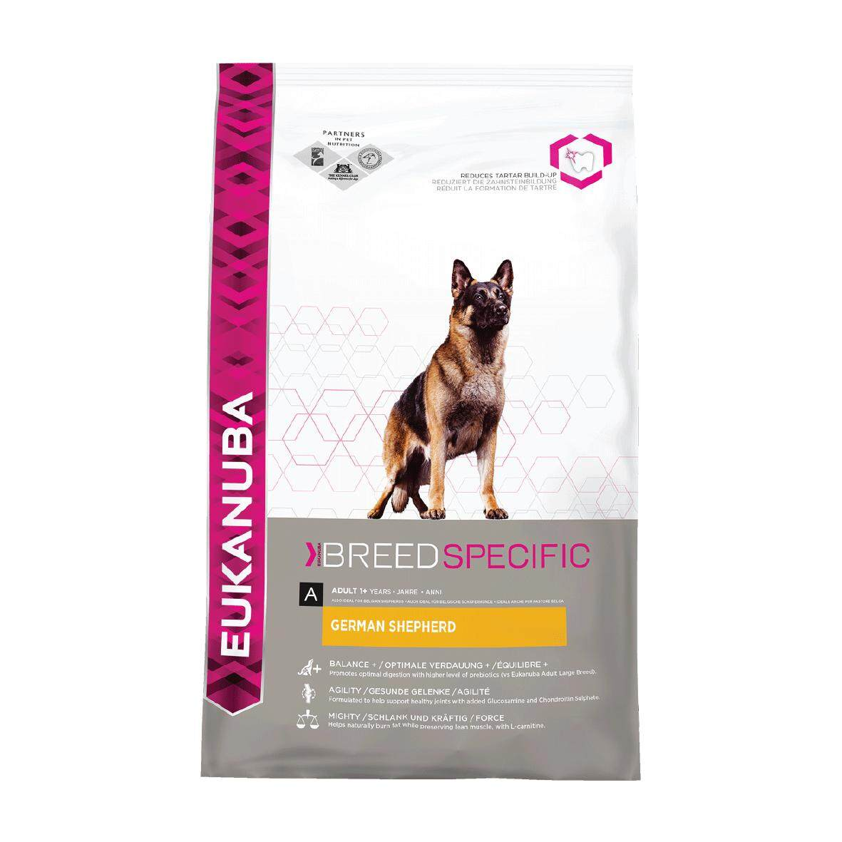 [EUKANUBA] BREED SPECIFIC German Shepherd Nutrition - 12KG