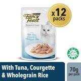 Fancy Feast Inspirations Tuna Courgette & Wholegrain Rice Wet Cat Food Box (12 x 70g)