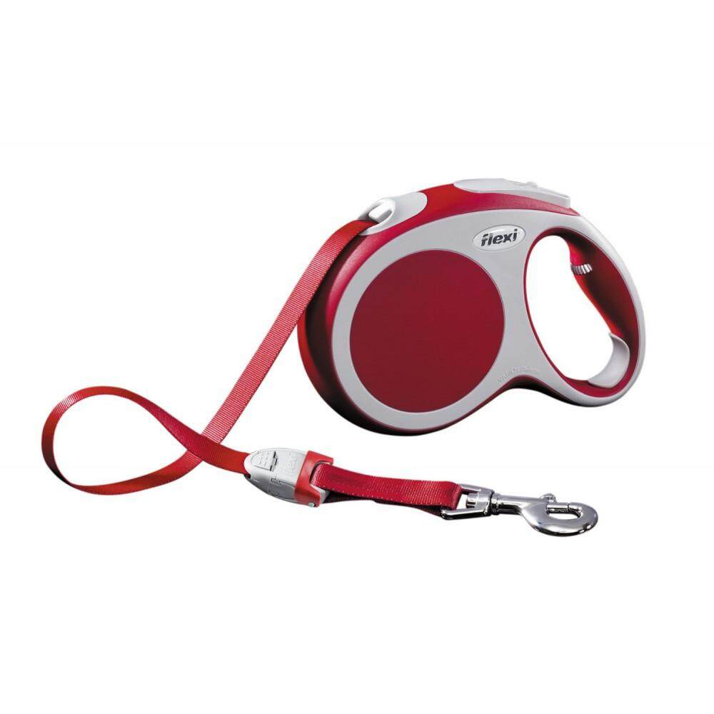 [Flexi] Flexi Vario 5meter Retractable Tape Leash For Large Pet Size (up to 60kg) - Red