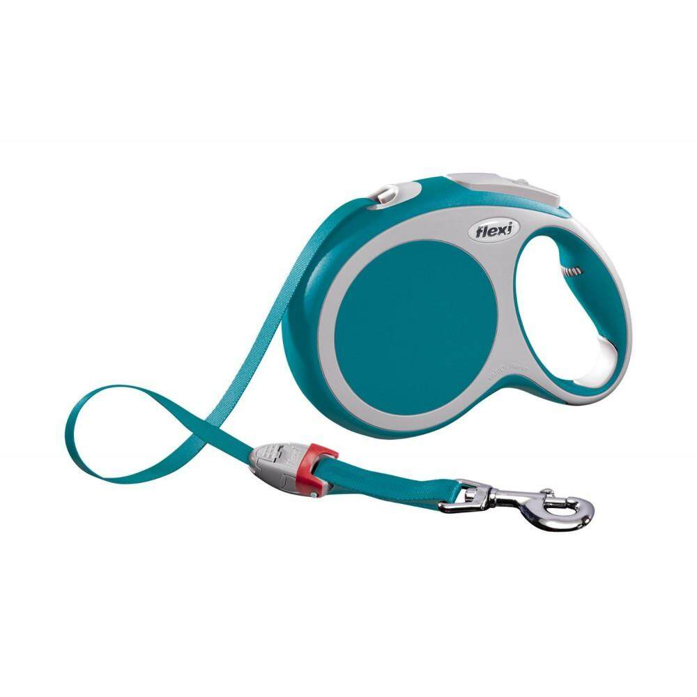 [Flexi] Flexi Vario 5meter Retractable Tape Leash For Large Pet Size (up to 60kg) - Turquoise