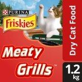 Friskies Meaty Grills Dry Cat Food Pack (1 x 1.2kg) - Pet Food/ Dry Food/ Cat Food/ Makanan Kucing
