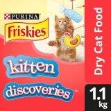 Friskies Kitten Discoveries Dry Cat Food Pack (1 x 1.1kg) - Pet Food/ Dry Food/ Cat Food/ Makanan Kucing