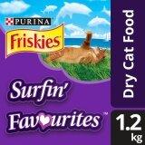 Friskies Surfin' Favourites Dry Cat Food Pack (1 x 1.2kg) - Pet Food/ Dry Food/ Cat Food/ Makanan Kucing