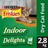 FRISKIES® Indoor Delights™ Dry Cat Food Pack (1 x 2.8kg) - Pet Food/ Dry Food/ Cat Food/ Makanan Kucing