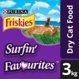 FRISKIES® Surfin' Favourites™ Dry Cat Food Pack (1 x 3kg) - Pet Food/ Dry Food/ Cat Food/ Makanan Kucing