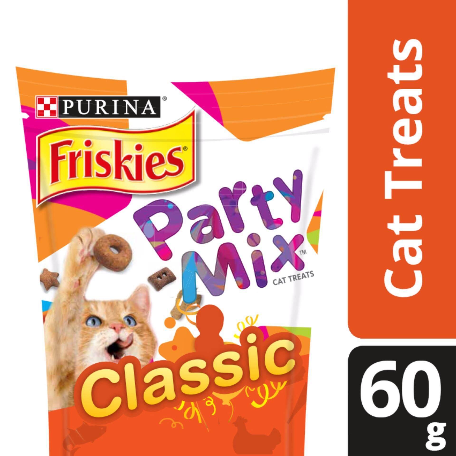 Friskies Party Mix Original Flavours Dry Cat Treats (1 x 60g)