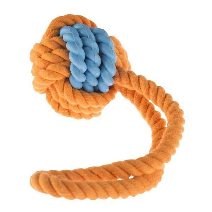 [FUN TIME] Rubber Rope Ball Tug