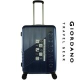 Giordano GA9618 24inch Ultra Strength Expendable ABS Hard Case Trolley (Navy)