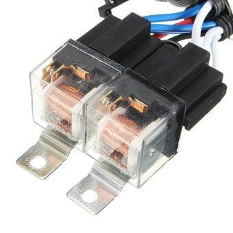 Features H4 Headlight 2 Headl Relay Wiring Harness Car Light Bulb. H4 Headlight 2 Headl Relay Wiring Harness Car Light Bulb Socket Plug. Wiring. H4 Headlight Relay Wiring Harness At Scoala.co