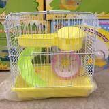 Hamster Cage 23cm X 17cm X 24cm(H) Random Color (157)